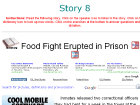 Food Fight Erupted in Prison