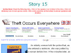 Theft Occurs Everywhere