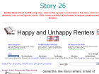 Happy and Unhappy Renters