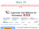 Agencies Get Millions for Homeless