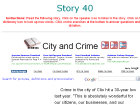 City and Crime
