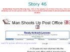 Man Shoots Up Post Office