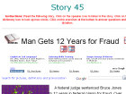 Man Gets 12 Years for Fraud