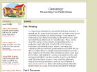 Genealogy: Researching Your Family History
