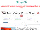 "Train Wreck ""Frees"" Cows"